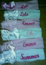Trendy Personalised Baby & Reborn Dolls Headbands with Bow