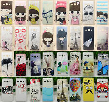 For Huawei Ascend Y530 C8813 Cartoon Girl Animal Lover Mustache Hard Case Cover
