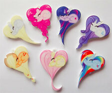 1 x My little pony friendship heart necklace or laser charm CHOOSE DESIGN!