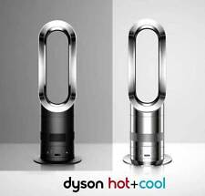 Dyson AM05 Hot&Cool Fan Heater  Black Nickel Post Recall Remote Refurbished MInt