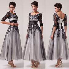 Long Evening Formal Party Ball Gown Prom Mother of the Bride Bridesmaid Dresses