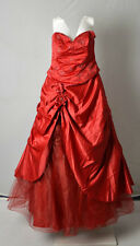 Jora Collection red ball gown prom dress wedding dress prom size 3XL