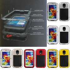 For Samsung Galaxy S4 S3 S5 Note 4 Armor Heavy Duty Aluminum Military Cover Case