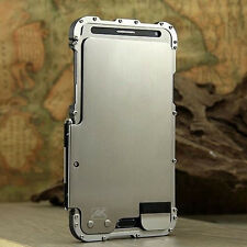 Armor Iron man Metal Aluminum Case Cover Skin For Samsung Galaxy Note 3 4 S5