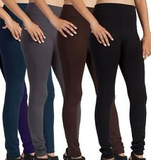 Sexy Ladies Pants Warm Fleece lined Winter Tight Thick Leggings One size