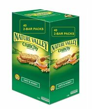 Nature Valley Crunchy Granola Bars Oats Honey 40 Packs 2 in pack 1 5 10 20 40