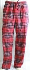 NAUTICA Flannel Lounge Pants Red Black Gray Plaid ~ NWT