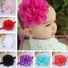 Girl Kids Baby Cute Lace Flower Headband Hair Band Headwear Toddler Accessories