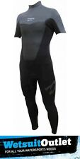 Billabong Foil 2mm JUNIOR S/S Steamer Wetsuit Black/Graphite J42B05