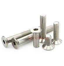 Lot50 Metric Thread M3/M4/M5/M6 Stainless Steel Hex Socket Countersunk Screws