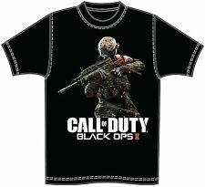 GAME ICONZ CALL OF DUTY BLACK OPS II TEE SHIRT COD 2 XBOX PS3 GAMER TAG