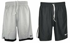 Nike Mens Dri Fit Reversible Basketball Shorts Silver-Grey-Black