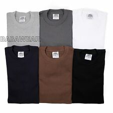 Pro5 Long Sleeve Thermal T-Shirt Super Heavy Black White Gray Navy Brown BABA