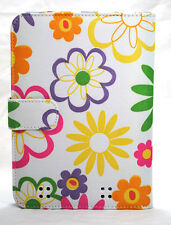 "Daisy Nook HD 7"" Quilted E-Book Reader Tablet Cover Case w Clasp n Pocket Sleeve"