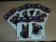 Dog Window Stickers * 7 breeds to choose from*
