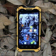 BLACK A9 waterproof Land Rover Smart Phone 4 Cores 1G Android 4.2 GPS WIFI