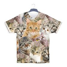 Cats Grumpy Swag 3D All Over Print T-shirt S17