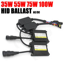 35W 55W 75W 100W HID Bi-Xenon Canbus Ballast Digital Super Slim Replacement Kit