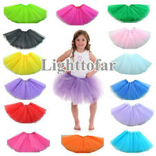 Neu 12inch Kids Girls Tütü Röcke Party Costume Petticoat Ballet Princess Skirt