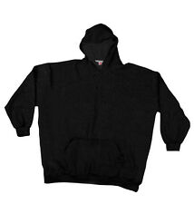 12XLShop Big and Tall Hooded Sweaty with waistband Black 2XL - 10XL