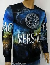 NEW WT MEN'S VERSACE SWEATSHIRT  LONG SLEEVE T-SHIRT