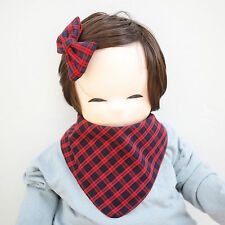Cute Newborn Baby Scarf Bib Girl Boy Unisex Cotton Infant Toddler Handmade Eb89
