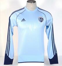 Adidas Formotion Kansas City Sporting Blue Long Sleeve Soccer Jersey Mens NWT
