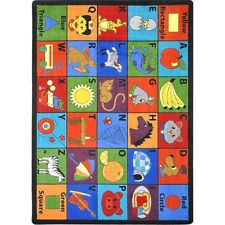 Say My Name Area Rug for Children by Joy Carpets Kid Essentials