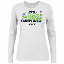 Seattle Seahawks Women's 2014 NFC Conference Champions Locker Room L/S T-Shirt