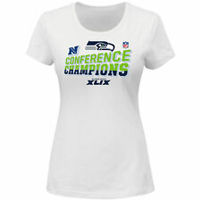 Seattle Seahawks Women's 2014 NFC Conference Champions Locker Room S/S T-Shirt