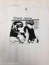MENS SONIC YOUTH T SHIRT ON **WHITE**