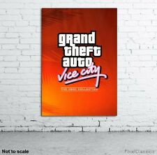 Grand Theft Auto: Vice City Poster Xbox Game Cover Artwork Picture - A2 A3 A4 A6