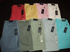 NWT Men's Polo Ralph Lauren 100% Cotton Chino Pants Classic Fit Great Gift