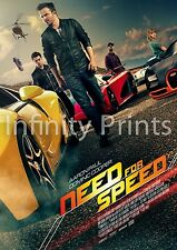 Need for Speed Movie Film Poster B A3 A4