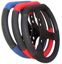 Steering Wheel  Karting / Motorsports  aluminum  sprint dirt racing  flat top