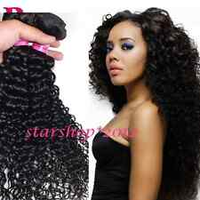 Unprocessed 7A Indian Virgin Human Curly Hair Extensions Weave 3 Bundles 150g B1
