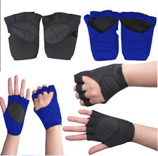 Free Shipping Weight Lifting Training Workout GYM Palm Exercise Fingerless Glove