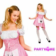 Ladies Little Miss Muffet Fancy Dress Up Party Halloween Costume Outfit