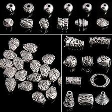 Wholesale Tibetan Silver Spacer Beads Round Imitation Pendants DIY Jewelry