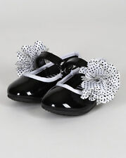 New Girl Jelly Beans Molysion Patent Polka Dot Floral Mary Jane Ballerina Flat