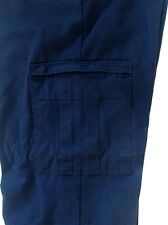 Dickies Cargo Navy Work Pants Industrial Relaxed Fit  (65% Polyester/35% Cotton)