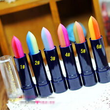 Fashion Women Mix Two-Colors Gradient Lipstick Lip Gloss Lip Cream Beauty Makeup
