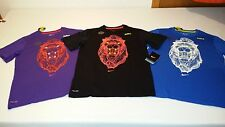 NEW Nike Boys Lebron James Wire Lion TD T Shirt 3 Colors 620520 Glow In The Dark