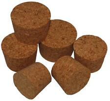 TAPERED CORK BUNG Bungs Stopper Bottle Jar / Carboy Cap / HOME BREW --- 12 SIZES