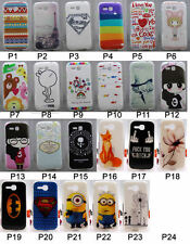 For Huawei Ascend Y610 Y600 Soft TPU Cartoon Girl Flower Animal Love Case Cover