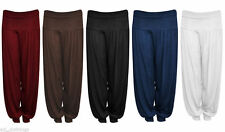 New In Girls Kids Stylish Harem Alibaba Baggy Pants Trousers Ages 7-13Yrs