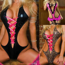 Hot Sexy Women Lingerie Bodysuit Nightwear Underwear Sleepwear Babydoll G-String