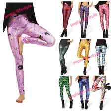 Best Sexy Hot YOGA PANTS Printed Women's LEGGINGS Workout Skinny Running Tights