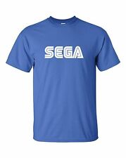 Sega Men's T-shirt Cool eighties console Master System Game Gaming Tee