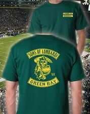 SONS OF LOMBARDI Green Bay Packers T-Shirt Rodgers Lombardi Starr Packer Nation